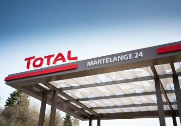 Tankstelle TOTAL Martelange 24