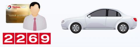 1 carte 1 véhicule 1 chauffeur