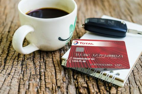 TOTAL Card, carte carburant pour professionnels