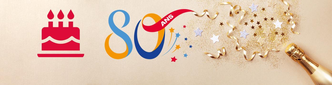 TOTAL célèbre ses 80 ans