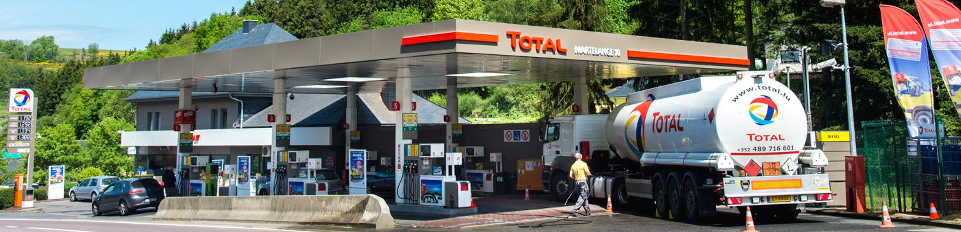Meine Total-Tankstelle