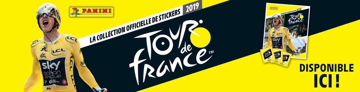 Bannière Panini Tour de France 2019
