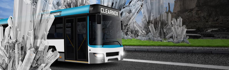 CLEARNOX® prévient les risques d'immobilisation en stoppant la cristallisation dans le système SCR.